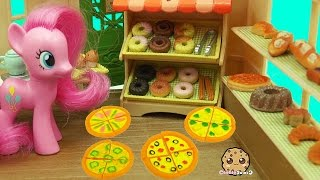 Download MY Little Pony Pinkie Works at Calico Critters Brick Oven Bakery with Pizza & Donuts Video