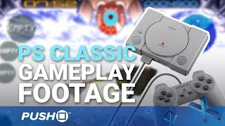 Download PS Classic: Gameplay Footage of All 20 Pre-Loaded PlayStation Games | PSone Video