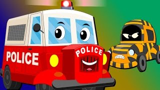 Download Ralph And Rocky | Police Car | Car Song And Rhymes For Children Video