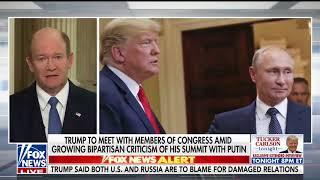 Download Sen. Coons joins Fox News July 17, 2018 Video