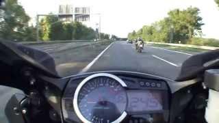 Download Autobahn Suzuki GSX-R 1000 K9 2009 TopSpeed 299 km/h Video