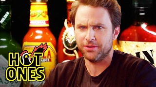 Download Charlie Day Learns to Love Ridiculously Spicy Wings | Hot Ones Video