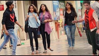 Download RAGHAV SLOW MOTION DANCE PRANK ON CUTE GIRLS | Pranks by B4Bachao | Pranks in india Video