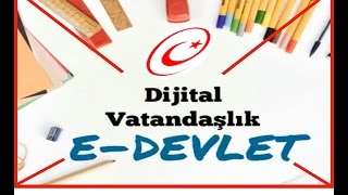 Download dijital vatandaşlık| e-devlet | Bilişim teknolojileri dersi Video
