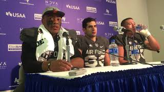 Download ​Air Force QB Arion Worthman and RB Tim McVey on beating UNLV after trailing 27-0 Video