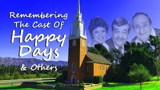 Download FAMOUS GRAVES: Remembering The Cast Of HAPPY DAYS-Tom Bosley, Erin Moran, Garry Marshall & Others Video