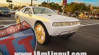 Bagged Kandy Red Dodge Challenger On 30s Charger On 26s Pmr Tv