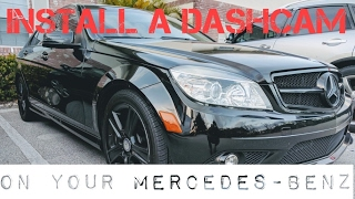 Download Install a Dash Cam on Your Mercedes-Benz Video