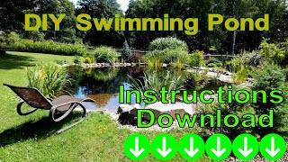 Download DIY Swimming Pond Video
