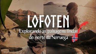Download Curtindo o sol da meia-noite, pedalando e acampando em Lofoten, norte da Noruega Video