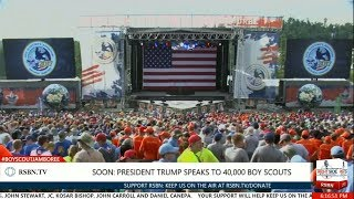 Download FULL SPEECH: President Trump Speech to 40,000 Boy Scouts at National Scout Jamboree Video