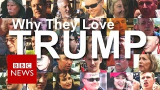 Download Donald Trump: 50 supporters explain why they love him - BBC News Video