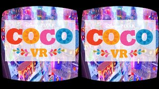 Download Disney Pixar COCO VR animation in cinemas 360 3D SBS Google Cardboard Video