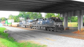 Download NS 291 takes the siding in Stockbridge Video