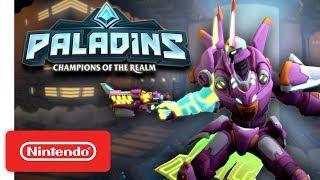Download Paladins - Battle Suit Battle Pass Trailer - Nintendo Switch Video