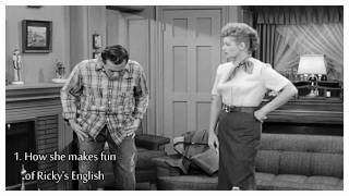 Download Lucille Ball // 5 Reasons Why We Love Lucy - Ricky's English [1] Video