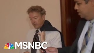 Download Rand Paul Is A Master Of Avoiding Reporters' Questions | All In | MSNBC Video
