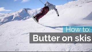 Download HOW TO BUTTER ON SKIS | NOSE BUTTER Video