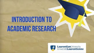 Download Introduction to academic research Video