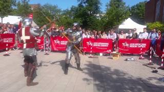 Download Medieval Poleaxe Combat Demonstration Video