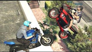 Download Hogaty, Shepard i Bahedur - ″Niedzielne Granie″ w GTA 5 Online # 32 ″NOWE STUNTY, 3 MOTOCYKLE″ Video