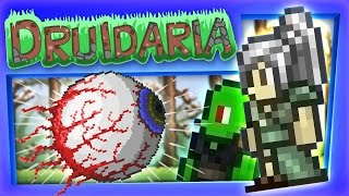 Download Terraria #15 - We Fight The Eye of Cthulhu Video