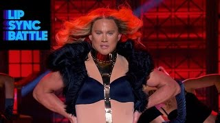 Download Channing Tatum & Beyonce's ″Run The World (Girls)″ vs. Jenna Dewan-Tatum's ″Pony″ | Lip Sync Battle Video
