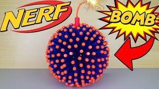 Download EPIC NERF BOMB (*HUGE EXPLOSION*) Video