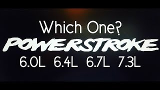 Download Which Ford Diesel Motor is the Best? Powerstroke Shootout - Best Ford Diesel Engine Video