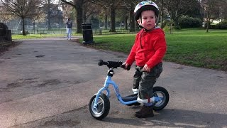 Download Lenny On His Puky Balance Bike Video