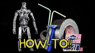 Download How To Make Your Own T-800 Terminator Action Figure!! - Homemade How-to! Video