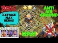 Download TH10.5 (TH11 No Eagle Artillery) War Base 2018 !! Anti 2 3 Star !! Tested !! Proof Replays COC Video