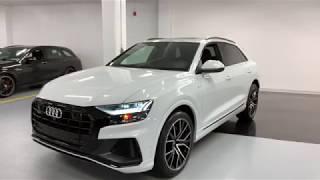 Download 2019 Audi Q8 Technik BLACK OPTICS - Walkaround in 4k Video