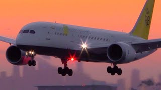 Download 20 PLANES Landing in 8 MINUTES | Melbourne Airport Plane Spotting Video