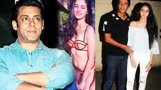 Download Salman To LAUNCH Chunky Pandey's Daughter Ananya In Bollywood Video