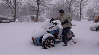 Download Can Am Spyder - More SNOW !!! - Spyder TV Video