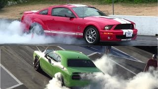 Download The Rivals-Hellcat vs Shelby-drag race comparison,who's faster?Dodge or Mustang Video