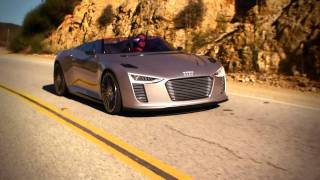 Download Audi e-tron Spyder in Malibu, CA Video