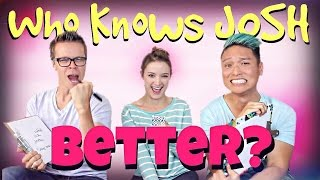 Download WHO KNOWS JOSH BETTER CHALLENGE! (Plus a video message from Josh) Video