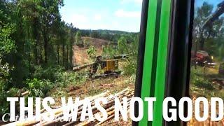 Download Huge Poplar tree falls on the Tigercat #fail Video