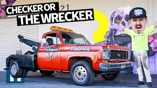 Download New Project Truck! '74 GMC Wrecker/Tow Truck, AKA the Burnyard's New Bouncer Video