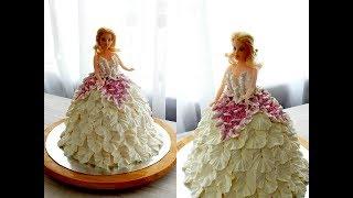 Download КАК СДЕЛАТЬ ТОРТ БАРБИ от SWEET BEAUTY СЛАДКАЯ КРАСОТА, Barbie doll cake decoration Video