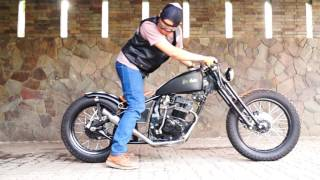 Download Bobber Custom Honda Mega Pro by Crumble Machine Video