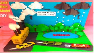 Download acid rain model for exhibition | science project for school kids or students Video