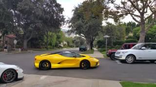 Download Ferrari racing in beverly hills Video
