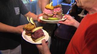 Download 2nd Ave Deli ″Heart Attack″ sandwich package Video