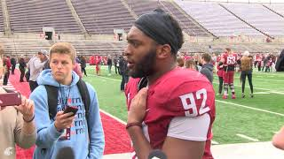 Download WSU Football: Will Rodgers III after Spring Game 4/20 Video