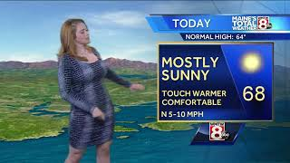 Download Clear and seasonable Monday, slightly cooler Tuesday Video