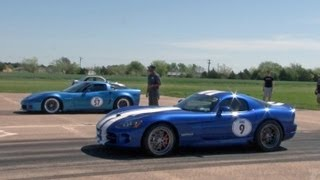 Download Corvette vs Viper Race Video