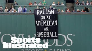 Download 'Racism Is As American As Baseball' Fenway Fans Unfurl Banner Saying | SI Wire | Sports Illustrated Video